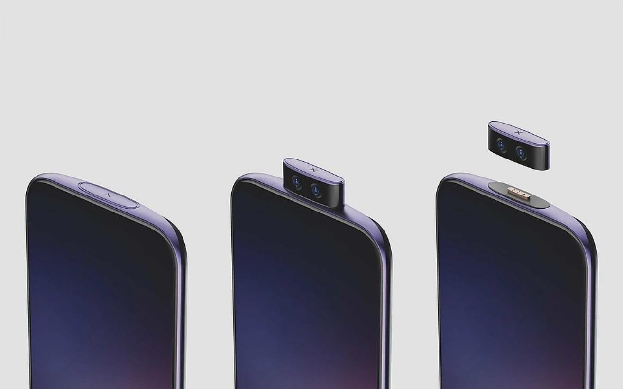 Chiếc điện thoại concept mới của Vivo có camera bật lên có thể tháo rời