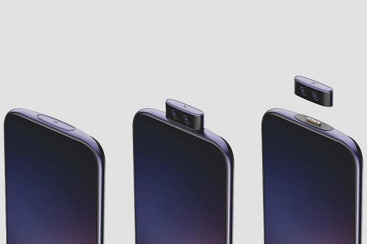 Concept điện thoại mới của Vivo: camera thò thụt có thể tháo rời