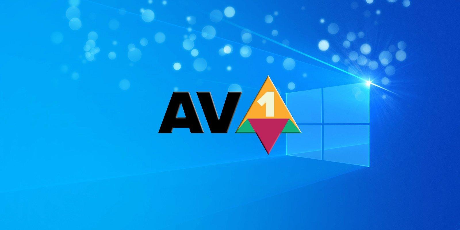 Microsoft thông báo codec AV1 sẽ được hỗ trợ trong Windows 10