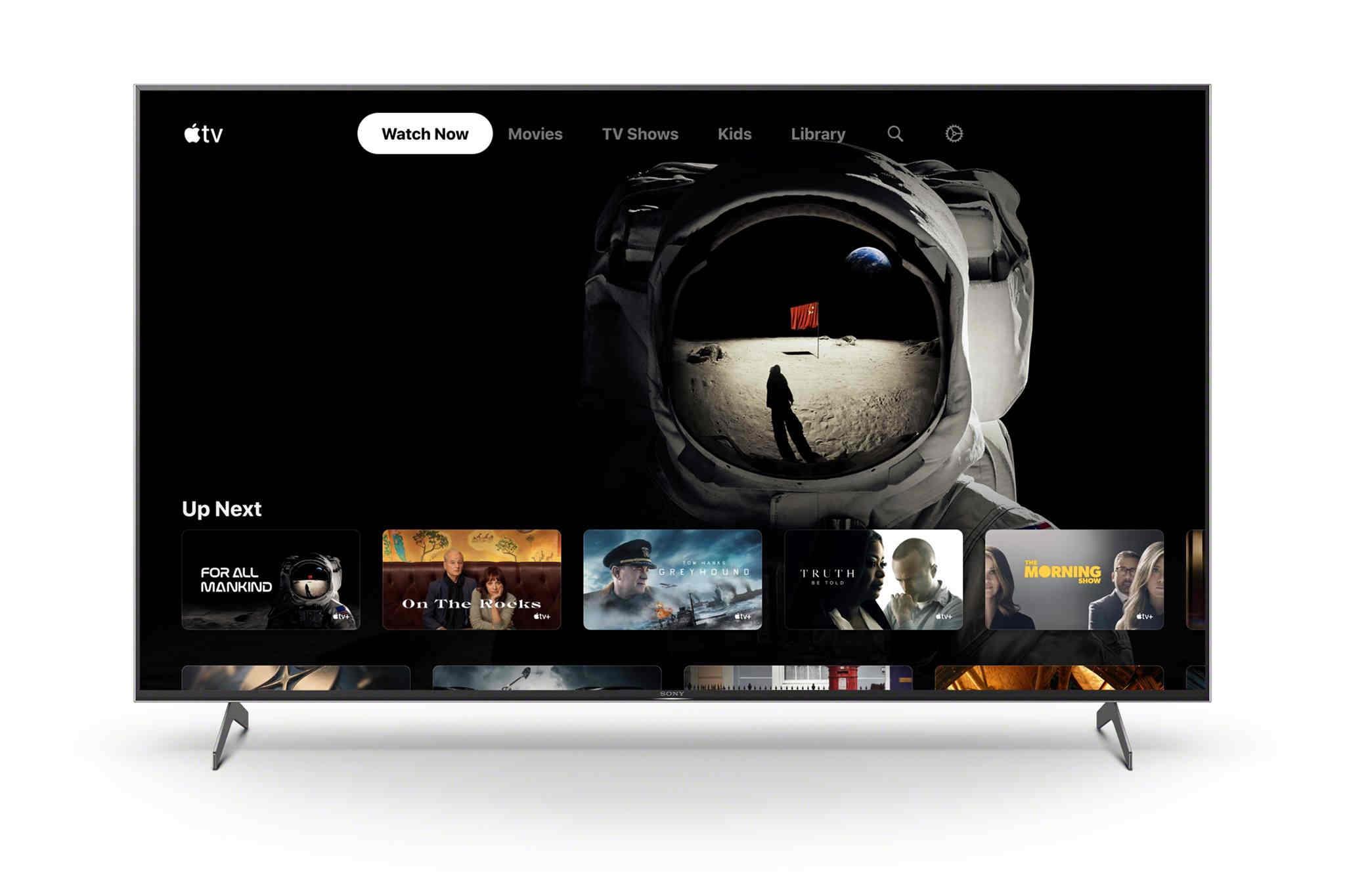 TV Sony chính thức hỗ trợ dịch vụ streaming video Apple TV+