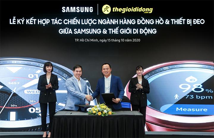 Samsung bán độc quyền Galaxy Watch 3 trên Thế Giới Di Động