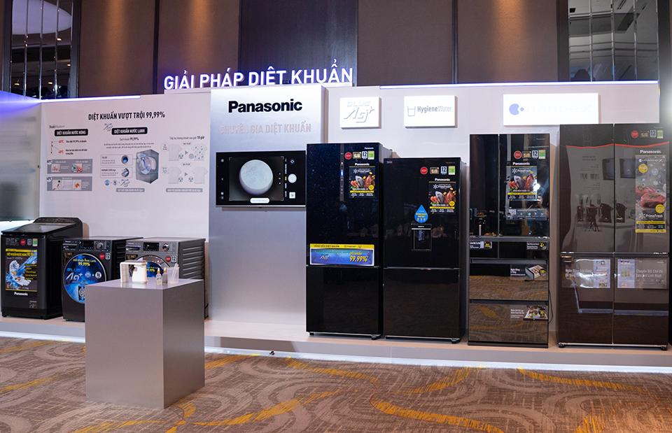 Panasonic đưa tính năng diệt khuẩn vào tủ lạnh, máy giặt và bồn cầu bán ở Việt Nam