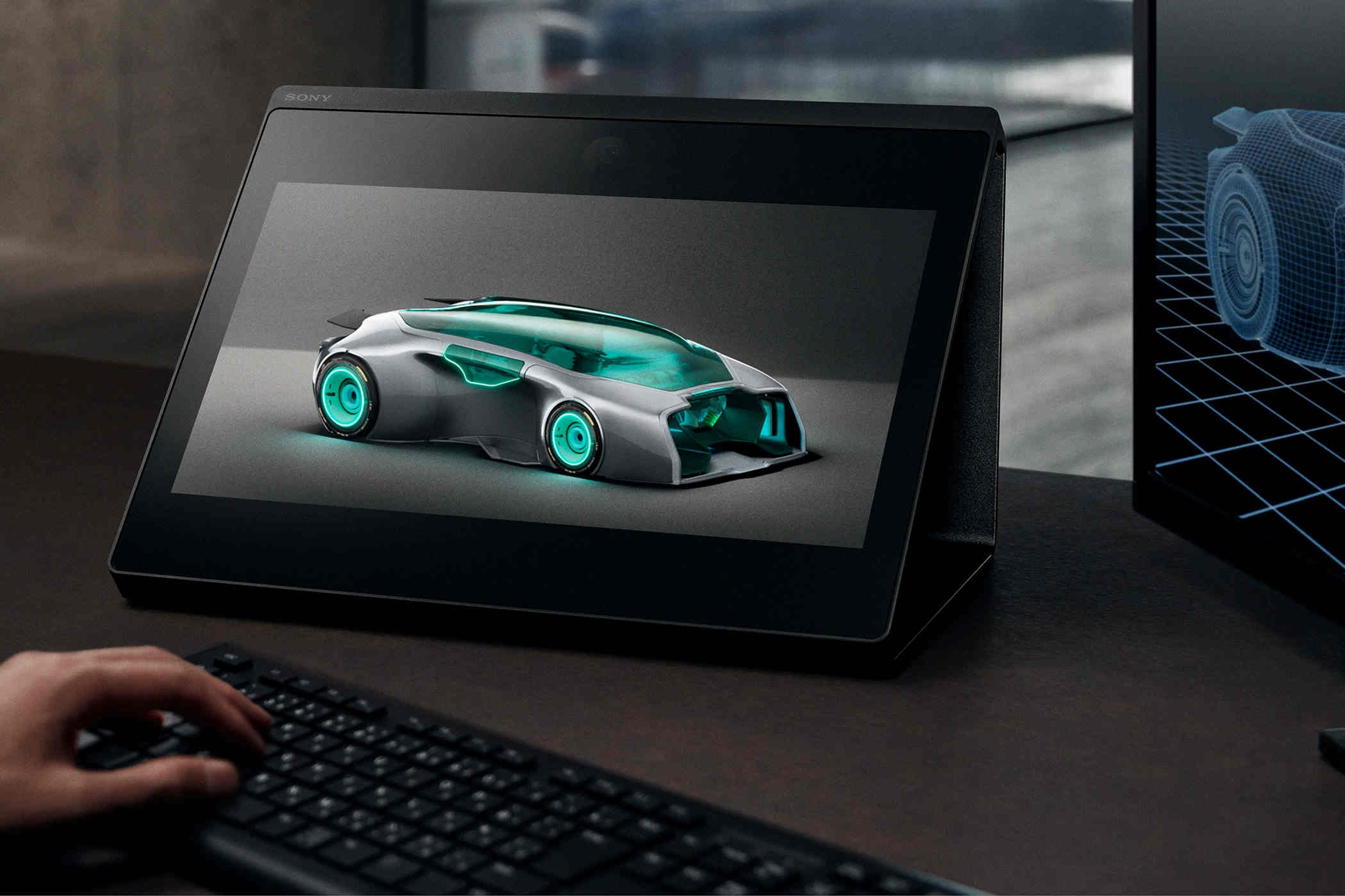 Sony ra màn hình 3D không cần kính, giá 5.000 USD, phục vụ giới kiến trúc sư, nhà thiết kế