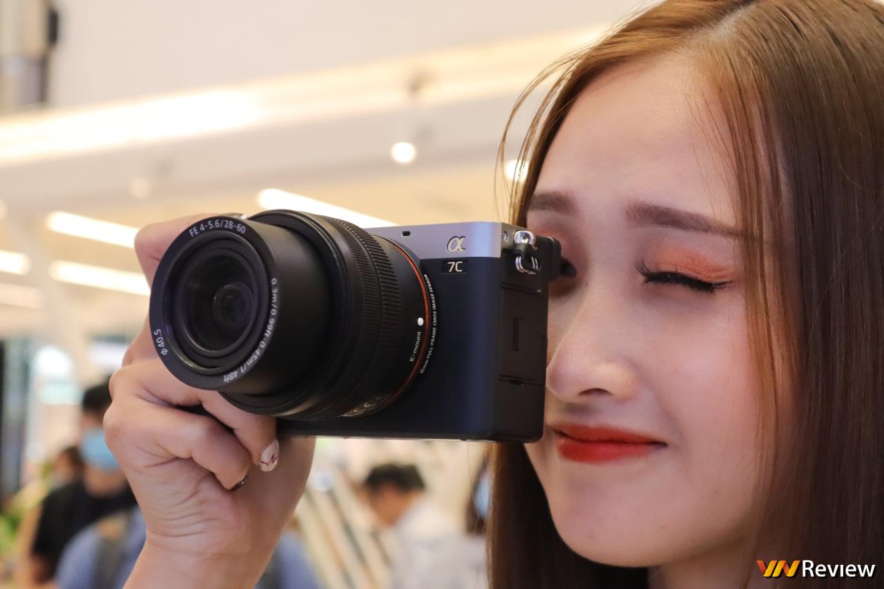 Sony bán máy ảnh full-frame nhỏ và nhẹ nhất thế giới Alpha 7C tại Việt Nam, giá từ 42 triệu đồng
