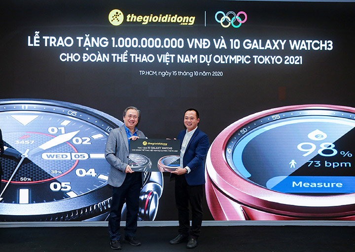 Thế Giới Di Động tặng 1 tỷ đồng cho đoàn thể thao Việt Nam dự Olympic Tokyo 2021