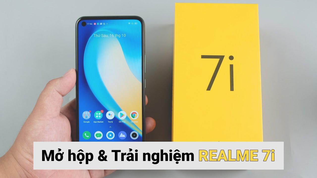 Mở hộp và trên tay Realme 7i: Snapdragon 662, Ram 8GB giá 6,2 triệu đồng