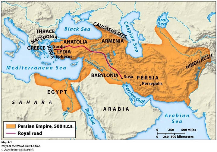 Năm Đế chế hùng mạnh nhất trong lịch sử nhân loại