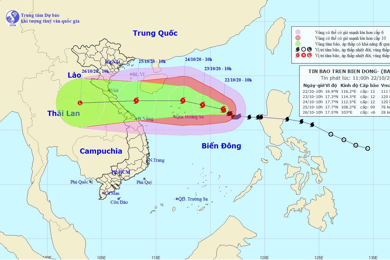 Tin bão số 8 mới nhất: Gió giật cấp 14, đổ bộ vào miền Trung trong vài ngày tới