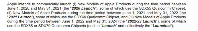 Apple vừa trình làng những chiếc iPhone 5G đầu tiên của mình với dòng iPhone 12, và có vẻ như, đứng sau thế hệ kết nối không dây này đó chính là modem X55 của Qualcomm, vốn xuất hiện rất nhiều trên các flagship Android. Điều này không quá khó hiểu bởi Apple đã ký thỏa thuận sử dụng chip Qualcomm.