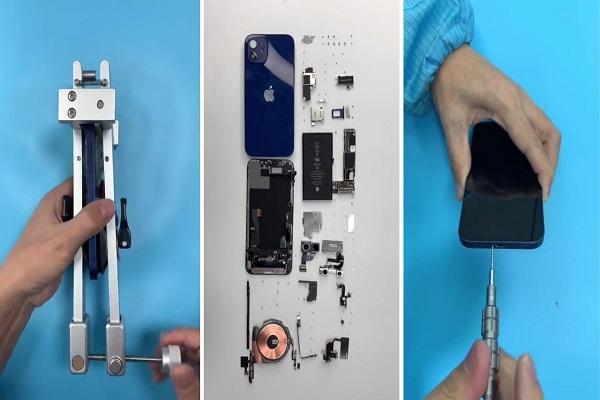 """""""Mổ"""" iPhone 12: Viên pin bé hơn, Magsafe được lắp ráp vô cùng tinh tế"""