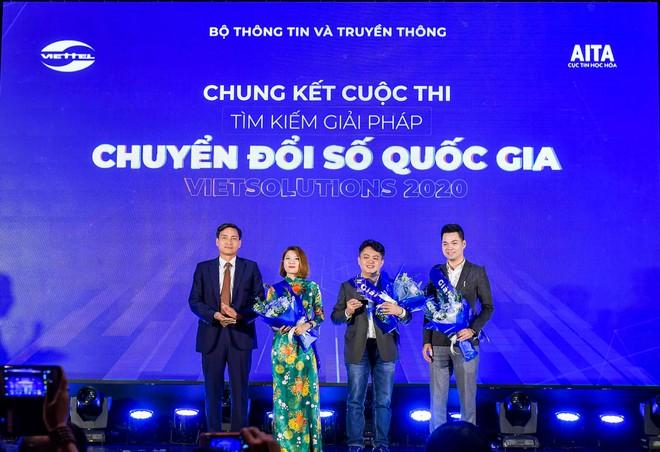 Chung kết Viet Solutions 2020 đã tìm được 3 giải pháp để đầu tư phát triển