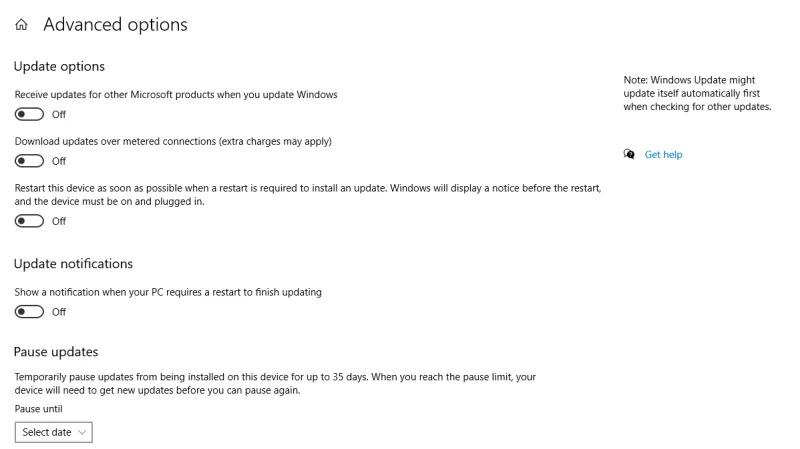 Đây là cách để tránh Windows 10 tự động khởi động lại PC một cách đột ngột