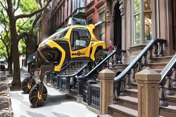 Ô tô có khả năng đi bộ trong tương lai