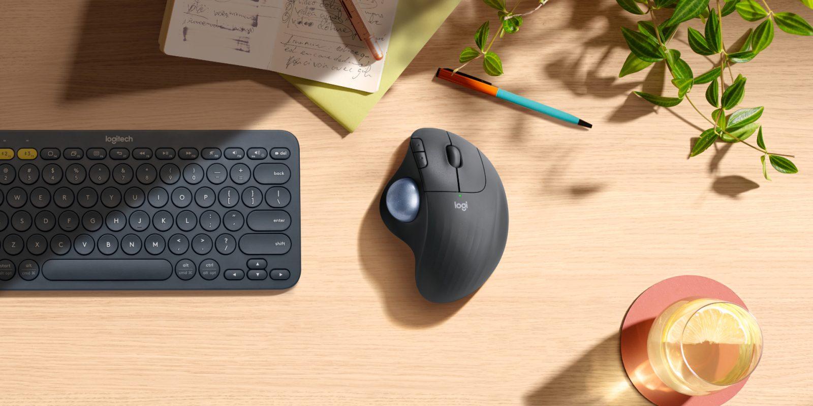 Logitech trình làng chuột công thái học có bi lăn mới, hỗ trợ Bluetooth, giá 50 USD