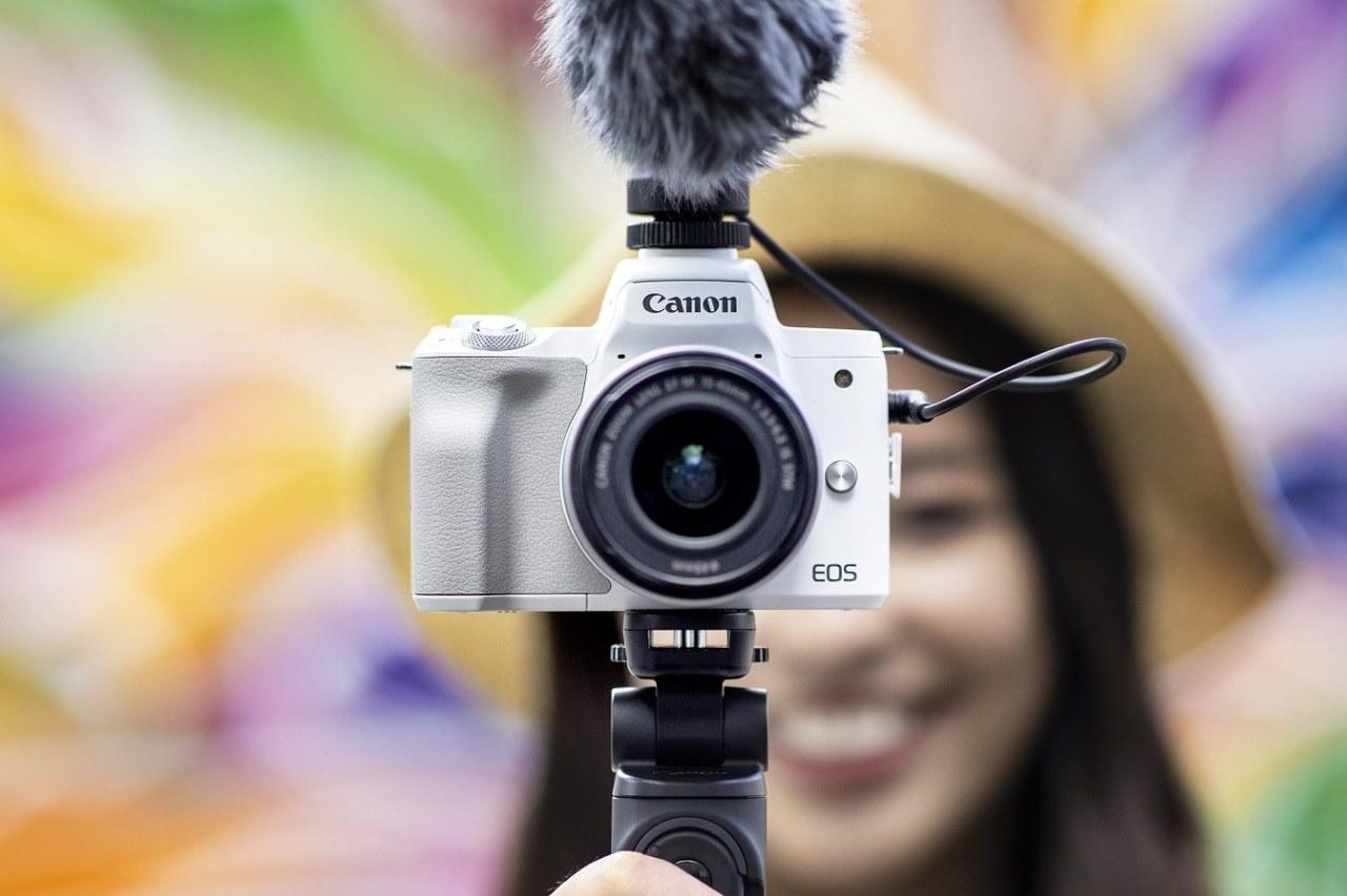 Canon ra mắt máy ảnh EOS M50 Mark II tại Việt Nam: giá 16 triệu đồng, bán ra từ tháng 1/2021