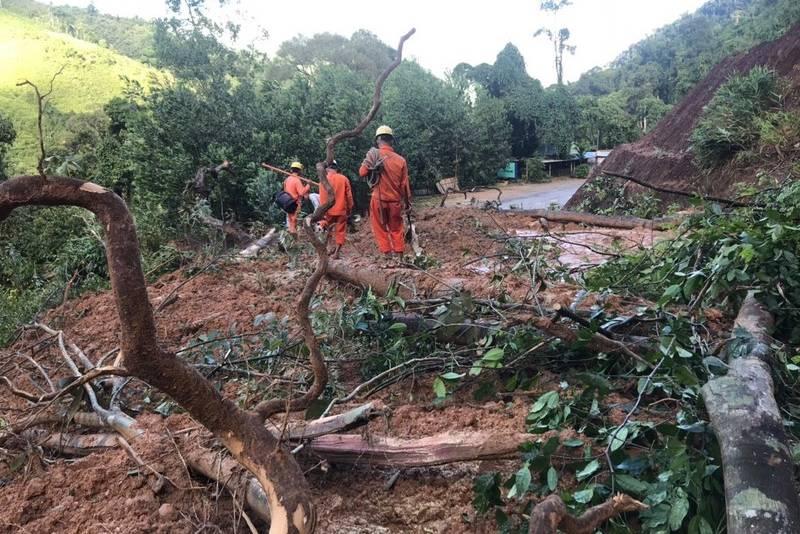 Sạt lở đất ở Quảng Nam: Tiếp cận hiện trường rất khó khăn