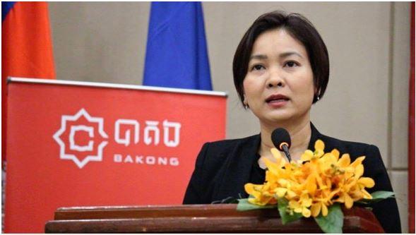 Giám đốc Ngân hàng Quốc gia Campuchia (NBC), bà Chea Serey - Ảnh: NIKKEI ASIA