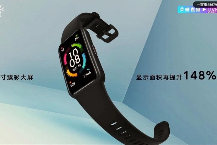 Honor Band 6 ra mắt: thiết bị đeo tay theo dõi sức khỏe toàn màn hình đầu tiên trên thế giới