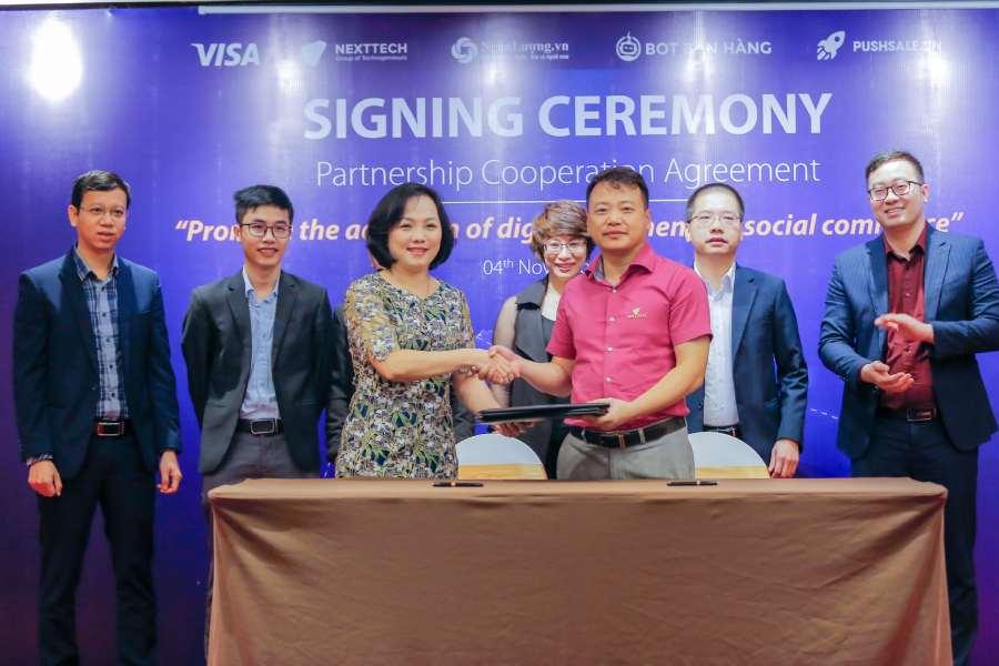 Nexttech và Visa hợp tác nhằm tăng cường ứng dụng các phương thức thanh toán số ở Việt Nam