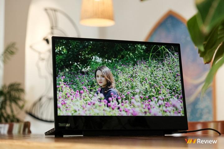 """Trên tay Lenovo ThinkVision M14t: """"màn hình phụ đáng mua"""" giờ có thêm cảm ứng"""