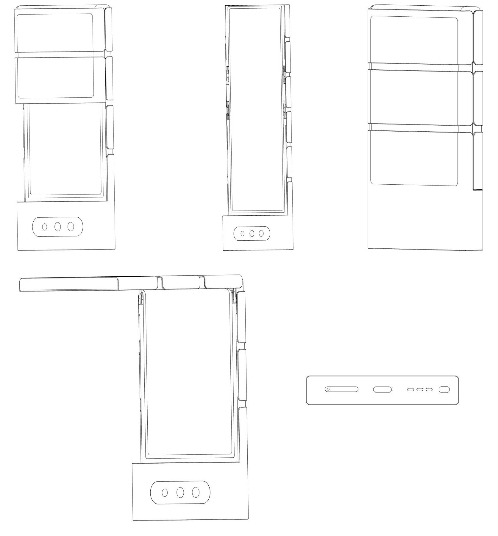 Oppo đang thử nghiệm các chiếc điện thoại có thể gập theo nhiếu cách