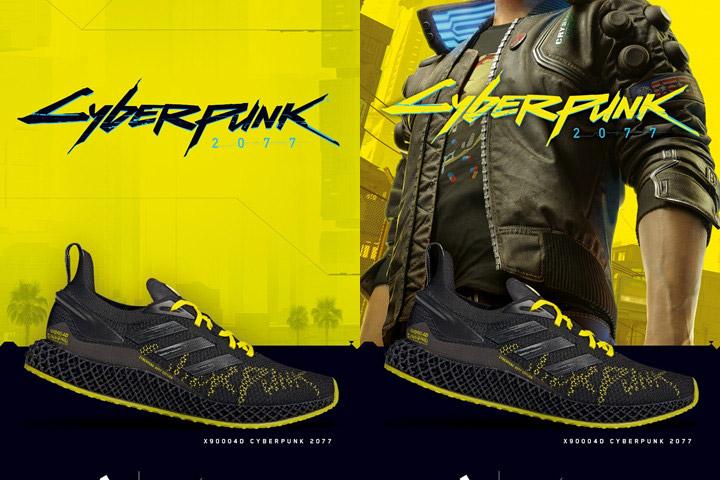adidas ra mắt giày X9000 lấy cảm hứng từ game Cyberpunk 2077 ở Việt Nam