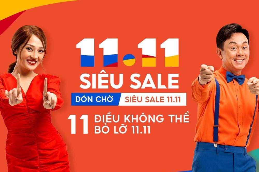 Tổng hợp deal tốt Shopee, Lazada, Tiki, Sendo dịp siêu sale 11/11
