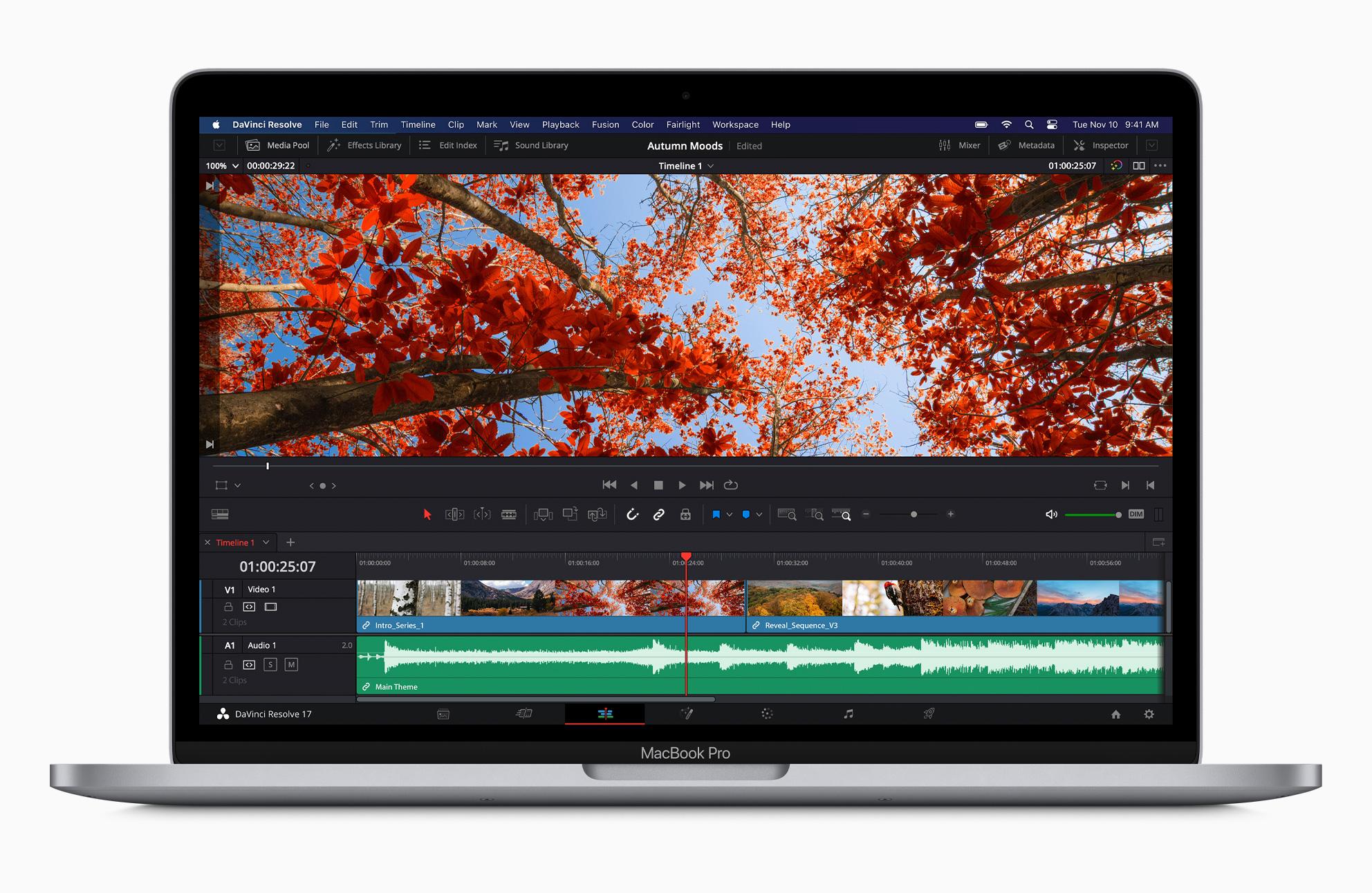 Apple trình làng chiếc MacBook Pro ARM 13 inch đầu tiên, sử dụng chip M1