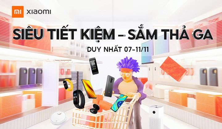 Xiaomi Việt Nam công bố danh sách sản phẩm ưu đãi ngày 11/11