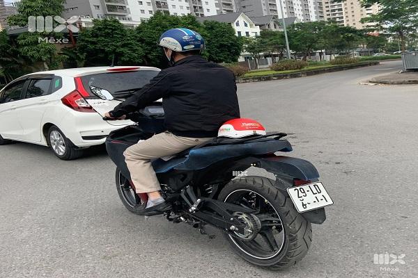 """Lộ ảnh Yamaha Exciter 155 mới """"lang thang"""" trên phố Hà Nội"""