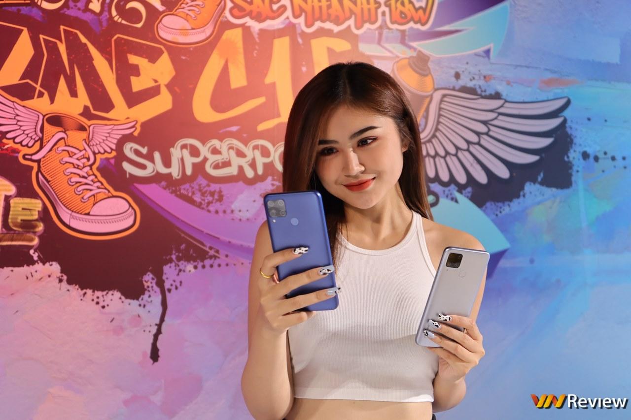 Realme C15 chính thức ra mắt tại Việt Nam: Pin lớn 6.000 mAh, sạc nhanh 18W, giá 4,19 triệu đồng