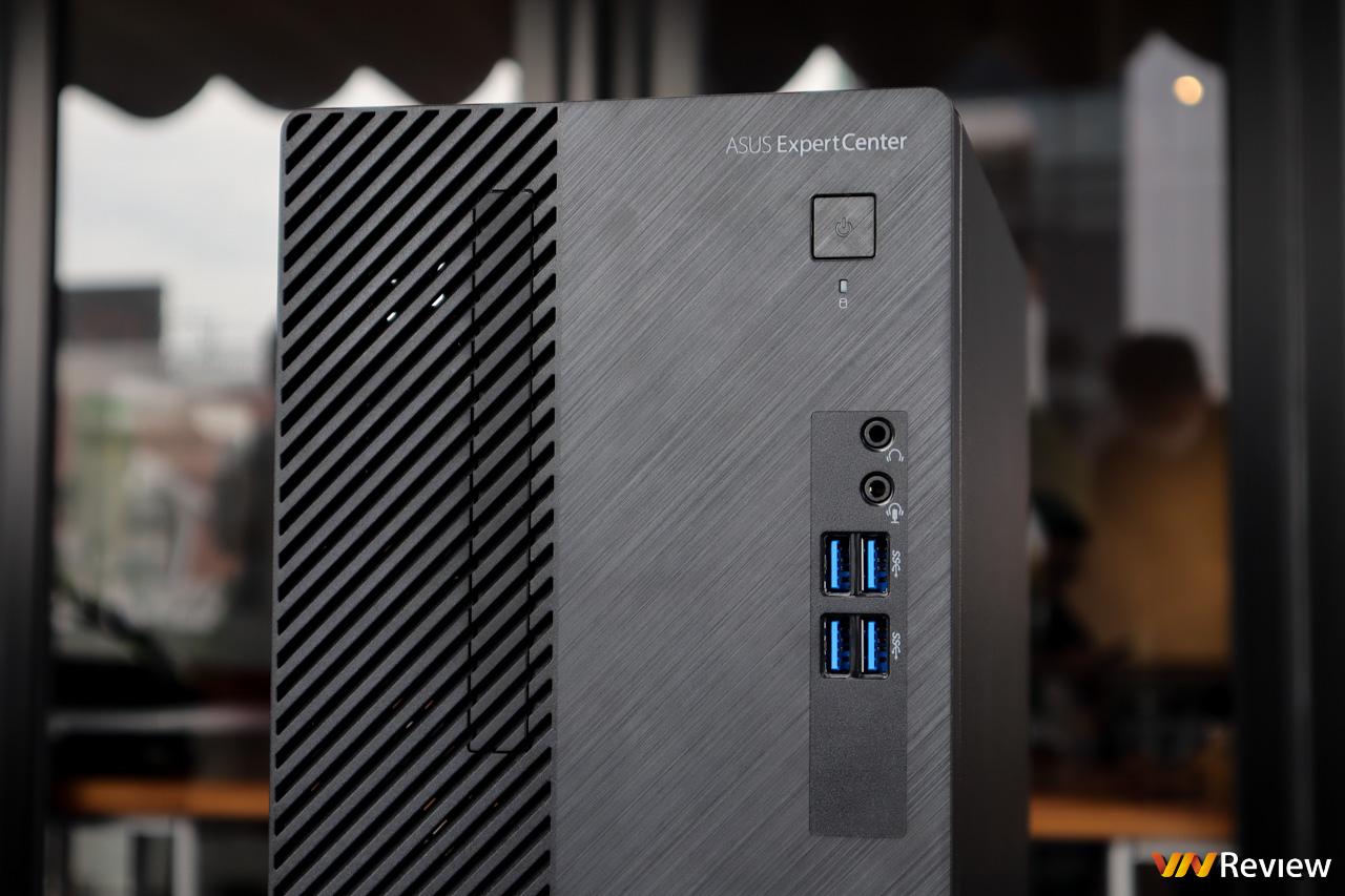 Trên tay Asus ExpertCenter D5: desktop doanh nghiệp hiệu năng cao, có sẵn CPU Intel đời 10, SSD M.2 PCIe, WiFi 6, giá từ 8,99 triệu đồng