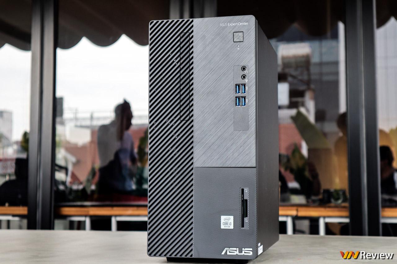Trên tay Asus ExpertCenter D5: máy tính để bàn hiệu năng cao cho doanh nghiệp, CPU Intel đời 10, có sẵn SSD M.2 PCIe, WiFi 6, Bluetooth, độ bền chuẩn quân đội, giá từ 8,99 triệu đồng.
