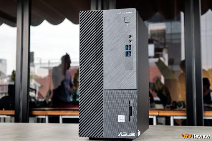 Trên tay Asus ExpertCenter D5: desktop doanh nghiệp hiệu năng cao, có sẵn CPU Intel đời 10, SSD M.2 PCIe, WiFi 6