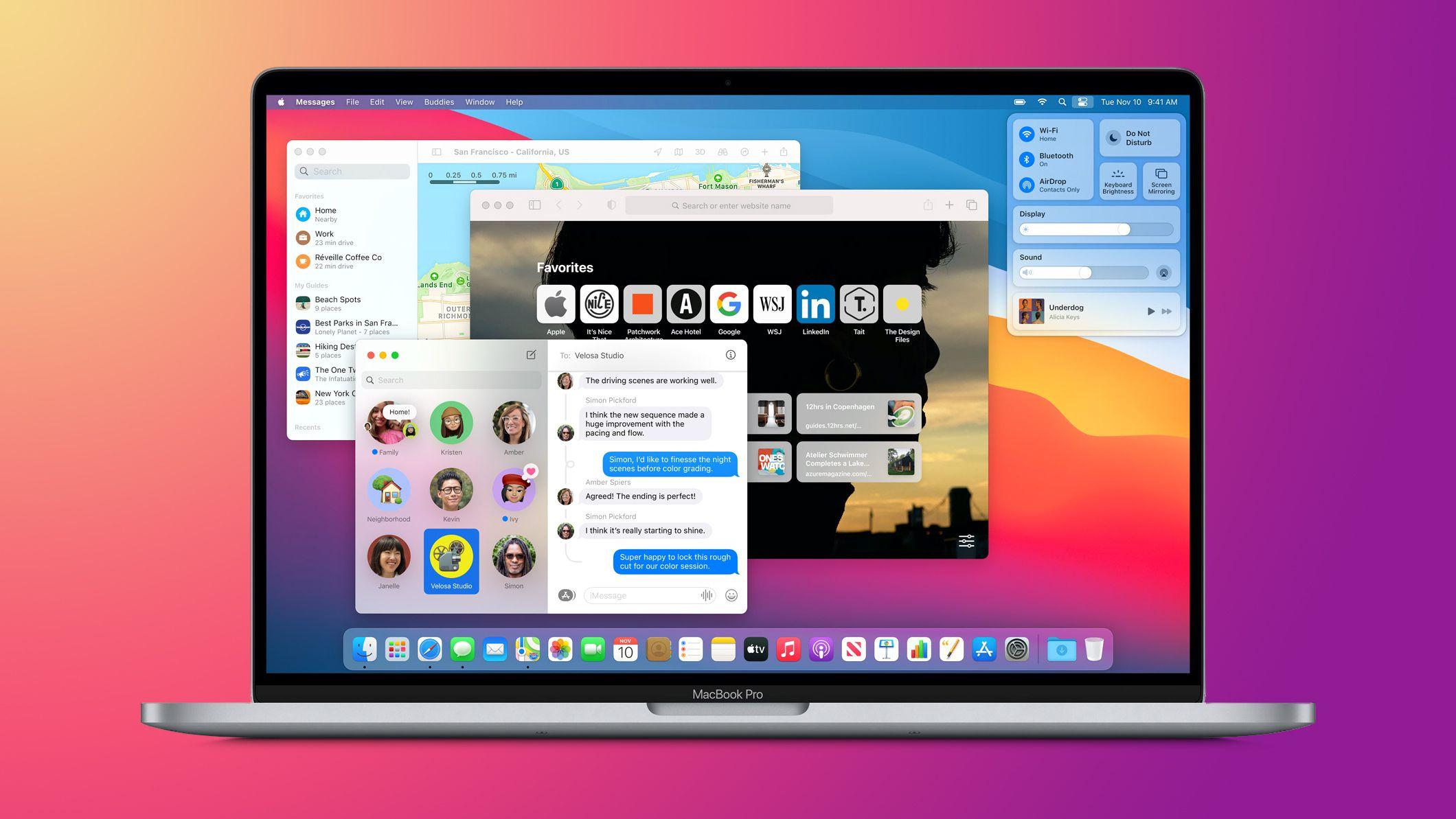 Những chiếc máy Mac nào có thể chạy macOS Big Sur?
