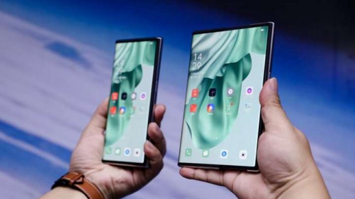 Oppo bất ngờ giới thiệu nguyên mẫu smartphone màn hình cuộn đầu tiên trên thế giới