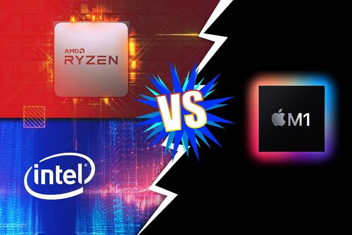"""Các CPU di động từ Intel và AMD dễ dàng cho Apple M1 """"hít khói"""" trong kết quả benchmark"""