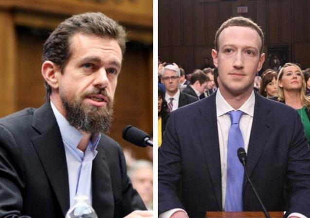 Facebook và Twitter bị điều trần khẩn về kiểm soát thông tin