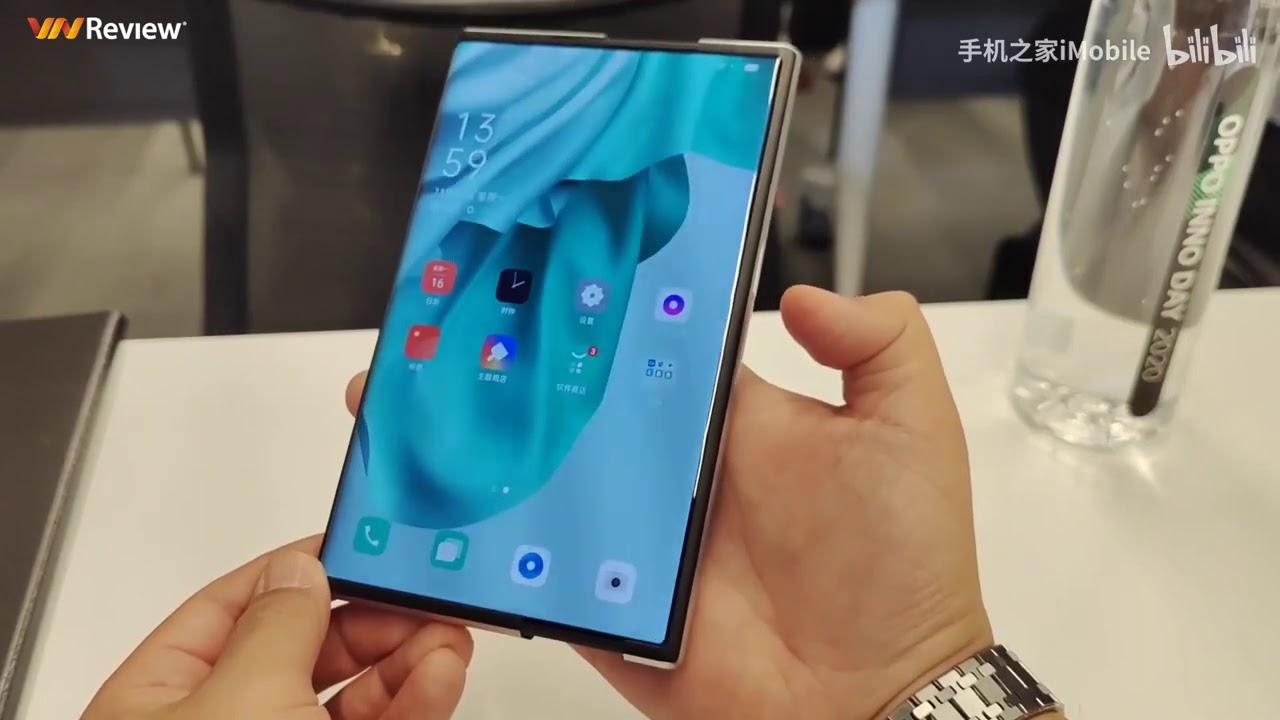 Oppo Find X 2021 - Smartphone màn hình cuộn đầu tiên trên thế giới | Cận cảnh trên tay!