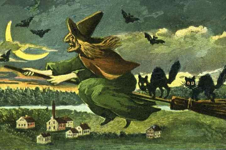 Tại sao phù thuỷ lại cưỡi chổi mà không cưỡi thứ khác?