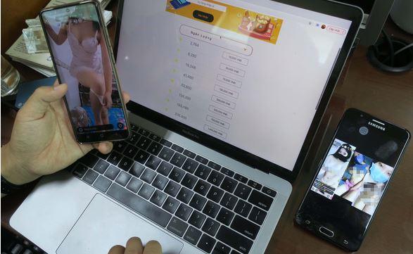 Tràn lan app phi pháp với đủ kiểu 'bán thân', livestream khiêu dâm