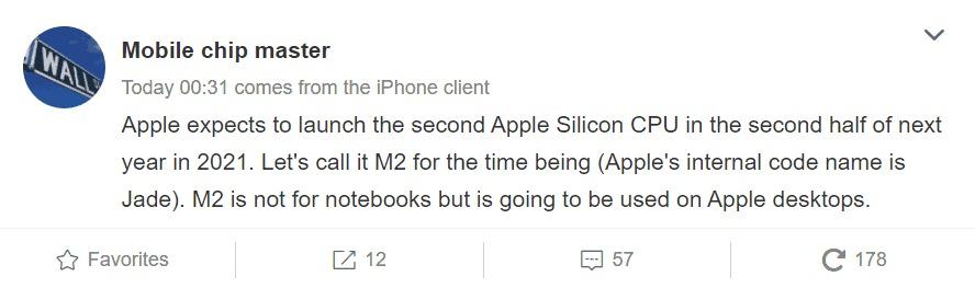Đầu tháng này, Apple đã trình làng những cỗ máy Mac đầu tiên sử dụng chip