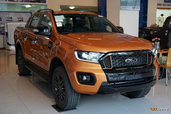 Soi nhanh Ford Ranger Wildtrak 2021 trước ngày ra mắt