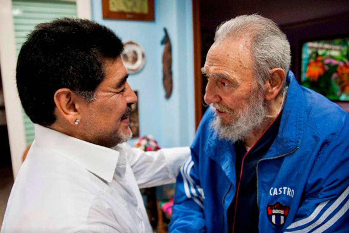 Maradona và tình bạn đặc biệt với cố Chủ tịch Cuba - Fidel Castro