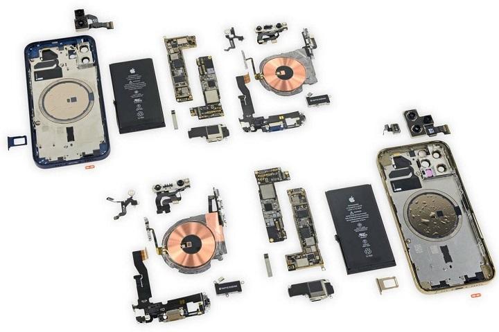 Tổng chi phí linh kiện của iPhone 12 Pro đạt 406 USD, đắt nhất là modem 5G của Qualcomm