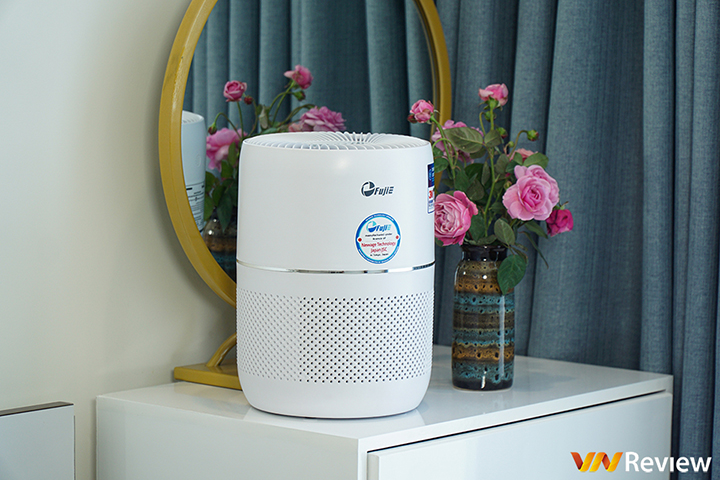 Trải nghiệm máy lọc không khí FujiE AP300: Nhỏ gọn, hiệu năng ổn, kết nối Wi-Fi tiện lợi
