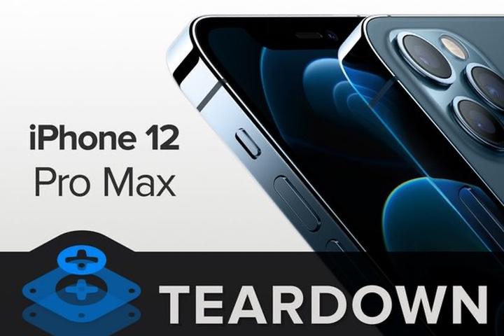 """""""Mổ bụng"""" iPhone 12 Pro Max"""