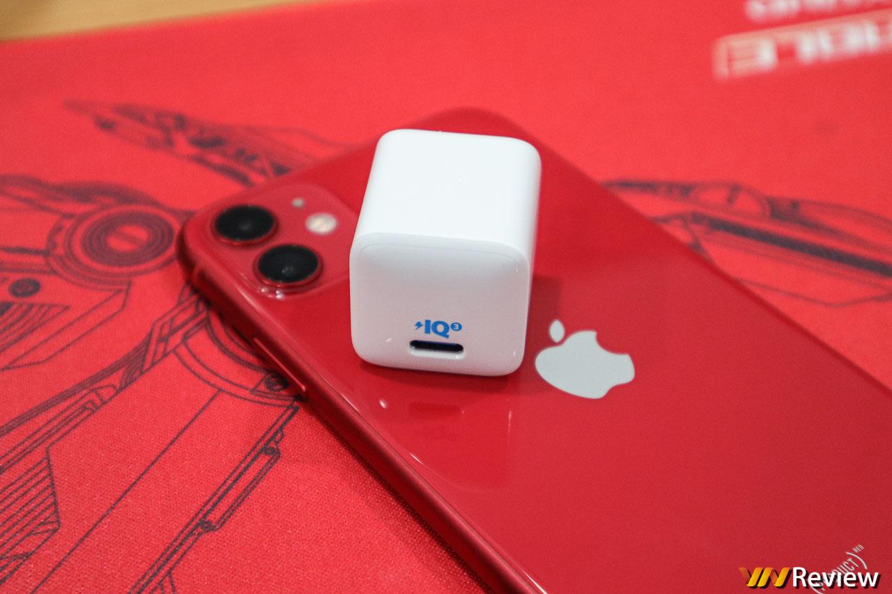 "Đánh giá Anker PowerPort III Nano 20W: củ sạc nhanh nhỏ gọn cho iPhone 12, ""cân"" luôn cả Macbook"