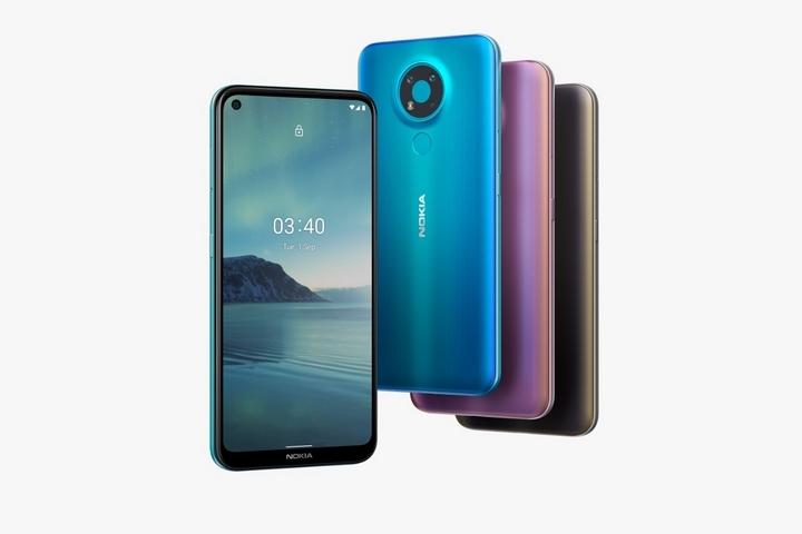 Nokia 3.4 lên kệ tại Việt Nam: Snapdragon 460, màn hình đục lỗ, 3 camera có góc siêu rộng, giá 3,69 triệu đồng
