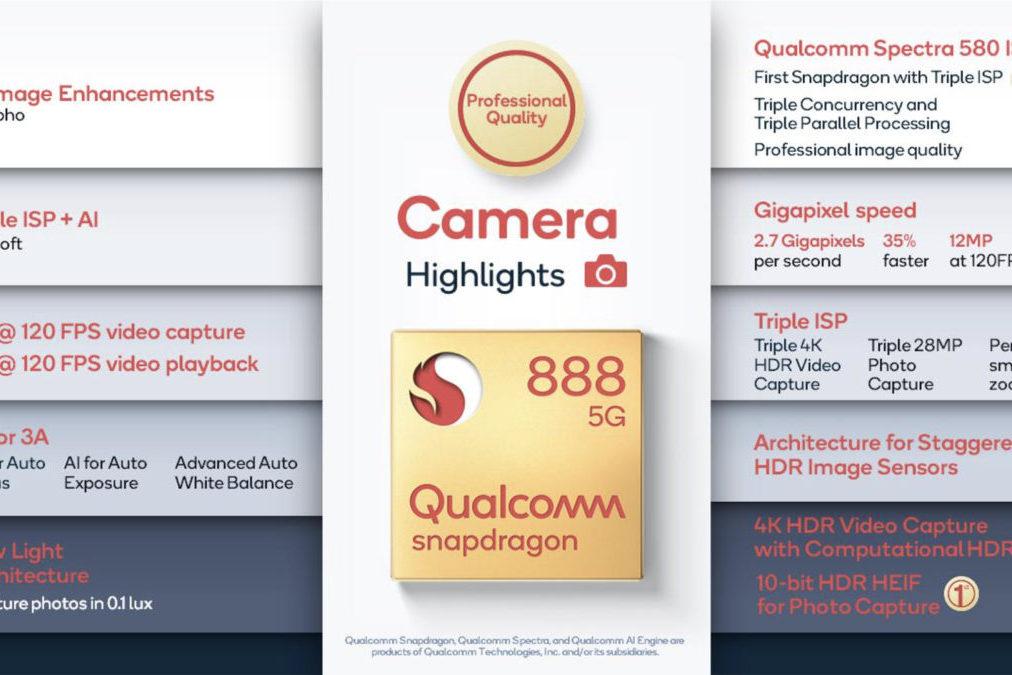 Snapdragon 888 có thể thay đổi cuộc chơi camera như thế nào